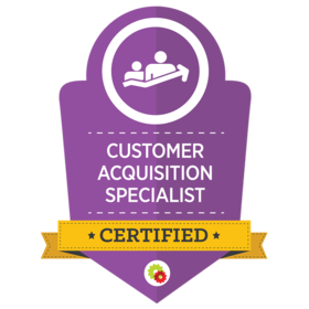 D4 Digital customer acquisition badge